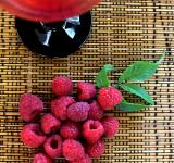 Free Photo - Raspberry juice
