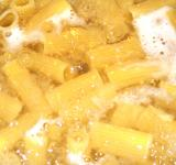 Free Photo - Macaroni being cooked on boiling water