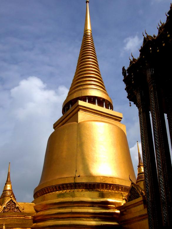 Free Stock Photo of Pagoda within the Wat Phra Kaew palace Created by Jack Moreh