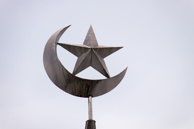 Muslim moon and star - Free Religion Stock Photos