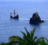Free Photo - Portuguese Caravel cruising the sea