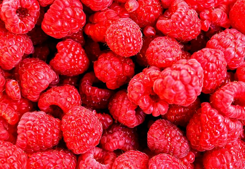 Raspberries only - Free Red Stock Photos
