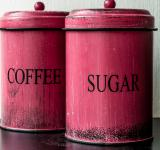 Free Photo - Antique coffee and sugar Canisters