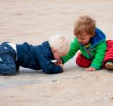 Free Photo - Kids playing on the beach