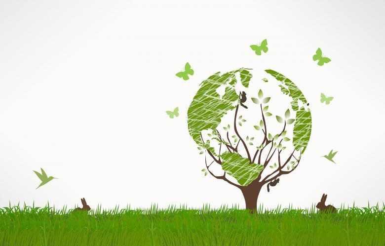 Green World Concept - Background - Free Environmental Stock Photos