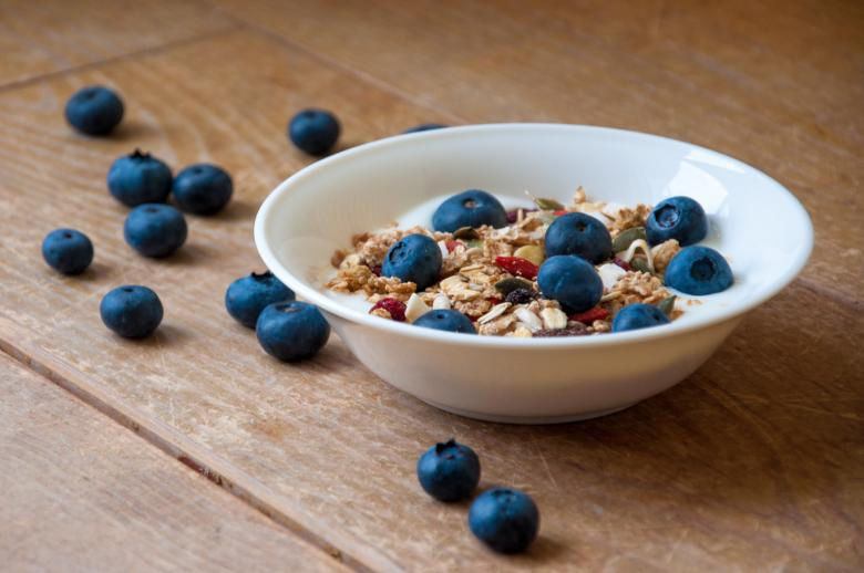 Free Stock Photo of Yogurt with superfood granola Created by Merelize