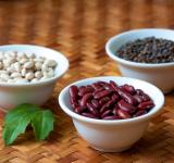 Free Photo - Red beans, white beans and lentils