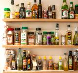 Free Photo - Herbs and oil bottles in kitchen