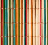 Free Photo - Coloured bamboo mat