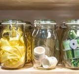 Free Photo - jars with ribbons