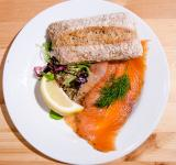 Free Photo - Salmon on a bread