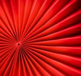 Free Photo - Red paper fan texture