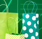 Free Photo - gift bags green