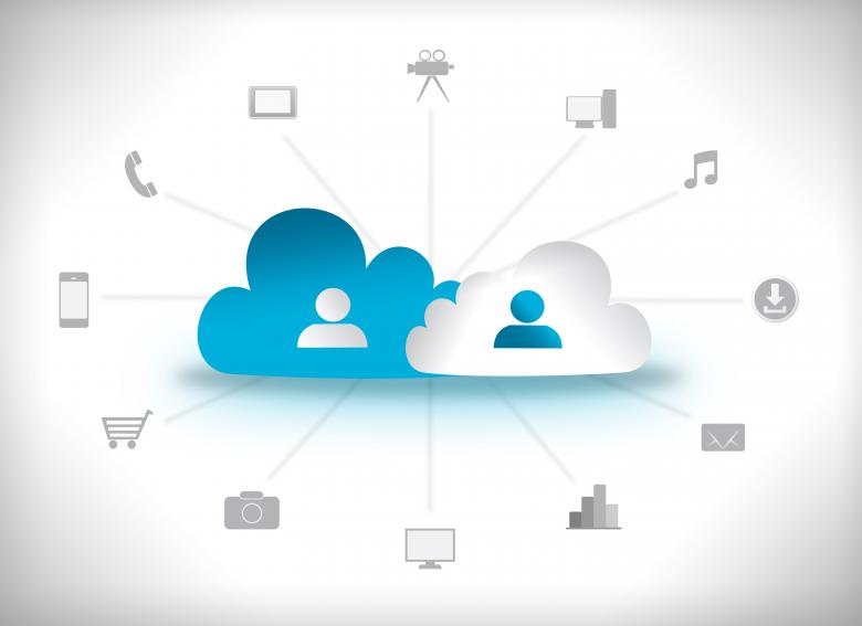 Free Stock Photo of Cloud Computing Concept Created by Jack Moreh