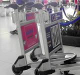 Free Photo - Airport Luggage Trolleys