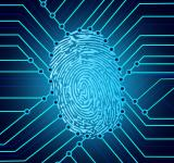 Free Photo - Biometric fingerprint identification