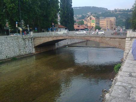 Bridge in Sarajevo - Free Stock Photo