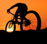 Free Photo - Biking into the Sunset