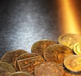 Free Photo - British pound coins on metal background