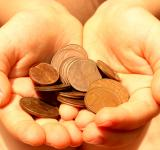 Free Photo - Hands showing euro coins