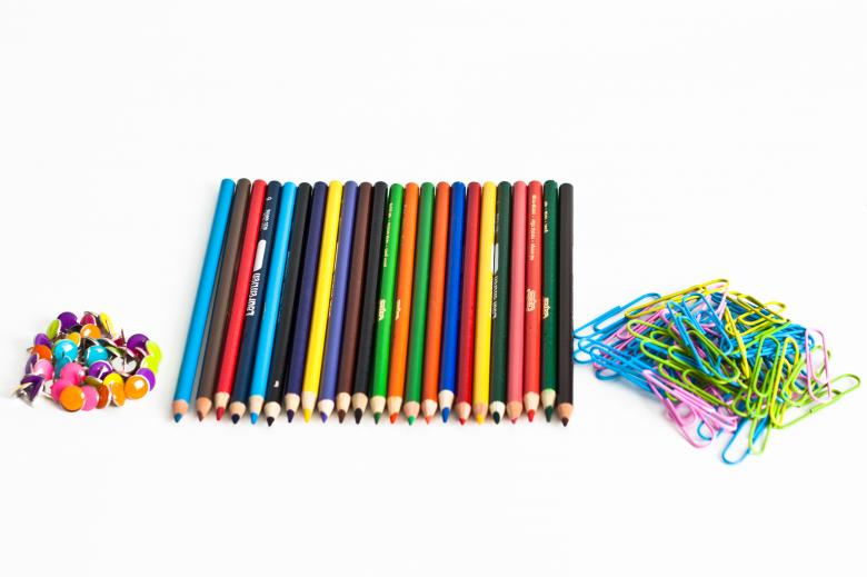 Free Stock Photo of School supplies Created by Geoffrey Whiteway