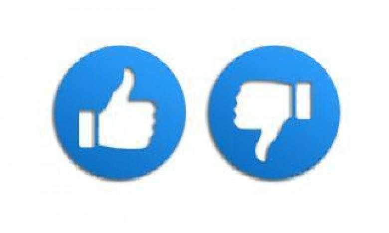 Free Stock Photo of Thumbs Up and Down like Icons Created by Merelize