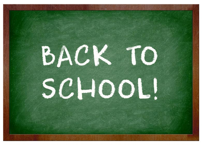 Free Stock Photo of Back to school chalkboard Created by Merelize