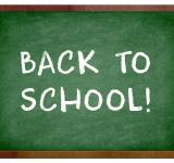 Free Photo - Back to school chalkboard