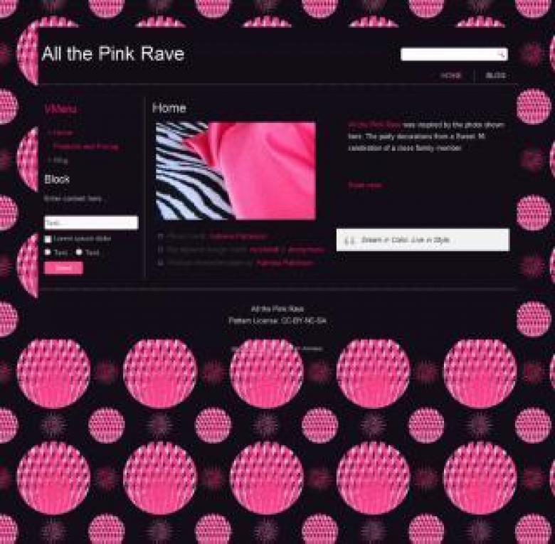 Free Stock Photo of All the Pink Rave Created by Katrena Patterson