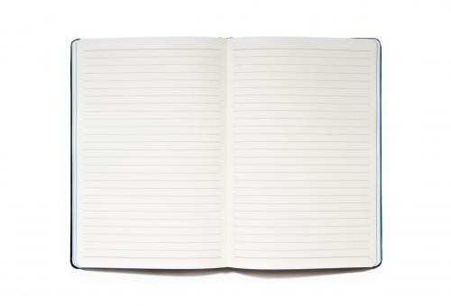 Notebook isolated on white - Free Stock Photo