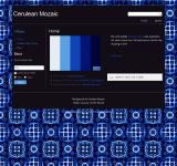 Free Photo - Cerulean Mosaic