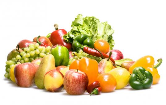 vegetables and fruits - Free Stock Photo