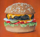 Free Photo - Hamburger painting illustration