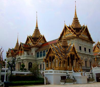Royal Grand Palace at Wat Phra Kaew - Free Stock Photo
