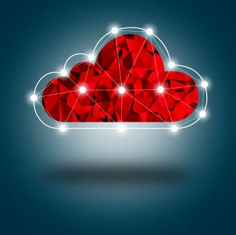 Simple Digital Cloud Concept - Free Stock Photo