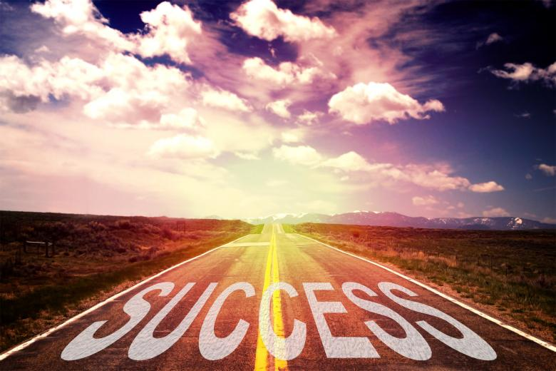 Free Stock Photo of The Road to Success Created by Jack Moreh