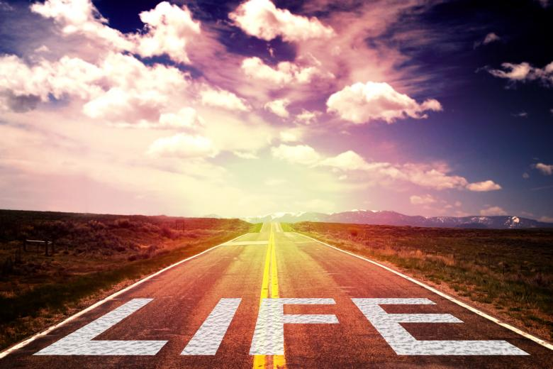 Free Stock Photo of Life is a Journey - Concept Created by Jack Moreh