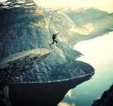 Free Photo - Into Thin Air - BASE Jumping