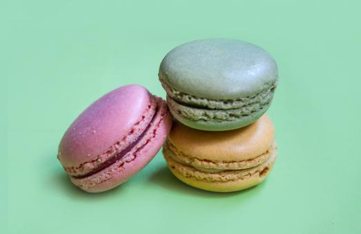 French macaroons dessert cookies - Free Stock Photo