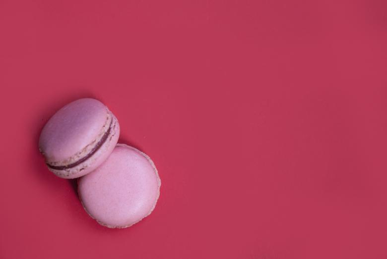 Free Stock Photo of French macaroons dessert cookies Created by Merelize