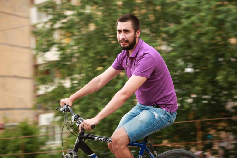 Free Stock Photo of Cyclist Created by 2happy