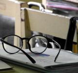 Free Photo - Glasses on a School Desk