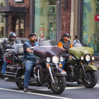 motorcyclists - Free Stock Photo