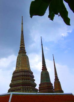 Spires - Wat Phra Kaew - Free Stock Photo