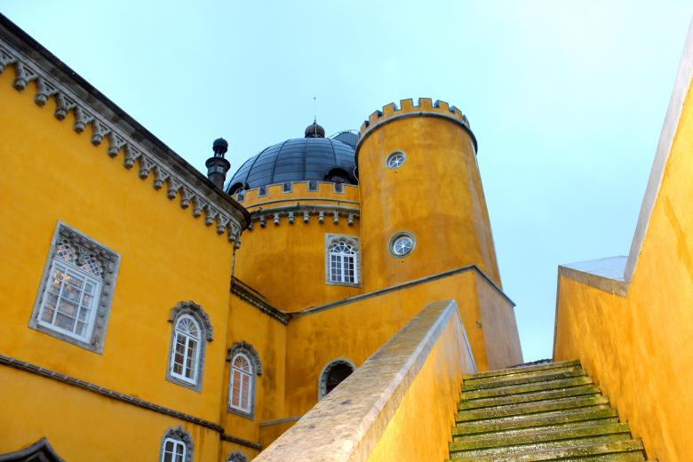 Free Stock Photo of Stairs - Pena National Palace, Portugal Created by Jack Moreh