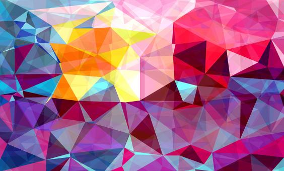 Modern Triangle Abstract Background - Free Stock Photo