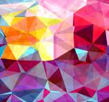 Free Photo - Modern Triangle Abstract Background