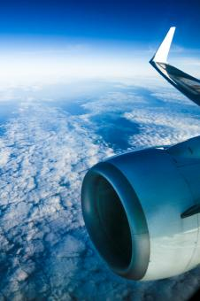 View from the airplane window - Free Stock Photo