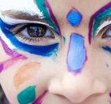 Free Photo - Girl with face painting