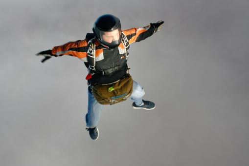 Skydiver - Free Stock Photo